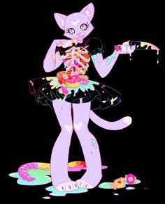 "tinderdry: ""22 candy & 23 gore sugar sweet♥ """