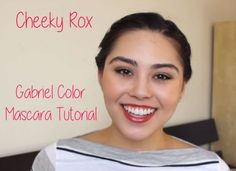 Gabriel Color Mascara Tutorial and Review | My Beauty Bunny #crueltyfree #beauty