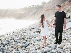 These 10 Photos From The Knot Dream Wedding Couple's Engagement Shoot Are the Prettiest Things You'll See All Day | Photo by: Jasmine Star Photography | TheKnot.com