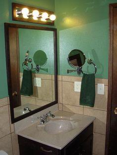 Bathroom remodel in progress.