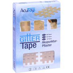 GITTER Tape Acutop 3x4 cm:   Packungsinhalt: 20X6 St Pflaster PZN: 11139936 Hersteller: Römer-Pharma GmbH Preis: 11,56 EUR inkl. 19 %…