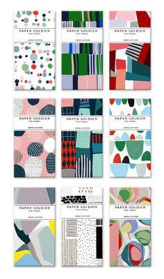 Ophelia Pang: Paper Soldier Tea Towel series 2