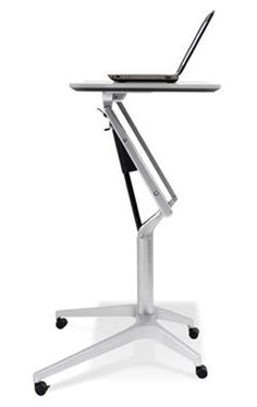 Finally, a WorkPad Mobile Standing Desk designed for Sit to Stand Computing. WorkPad is best alternative for electric height adjustable desk. Order here