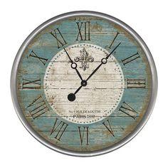 Found it at Wayfair - Fleur Wall Clock