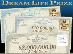 ..I want to win the Dream Prize