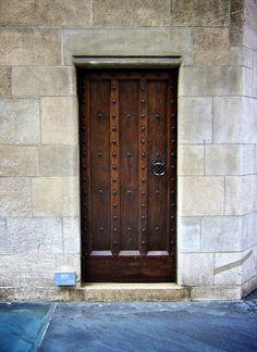 Wood #door in #NYC