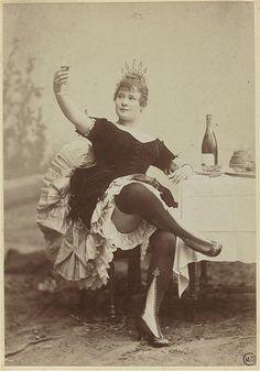 France. La Goulue, Moulin Rouge dancer