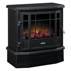 Duraflame Corner Electric Stove with Remote Fireplace Hearth, Stove Fireplace, Duraflame Electric Fireplace, Electric Stove, My House, Home Appliances, Fire Places, Wood, Remote