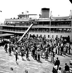 Bob-Lo/Bob-lo Boat: Detroit's answer to New York's Coney Island, Bob-lo Island amusement park opened in 1898 and featured several attractions. However, the most popular and famous attractions were not the rides at the park, but the steamer boats that transported park goers from Detroit - the S.S. Columbia and the S.S. Ste. Claire, affectionately referred to as The Bob-Lo Boats.