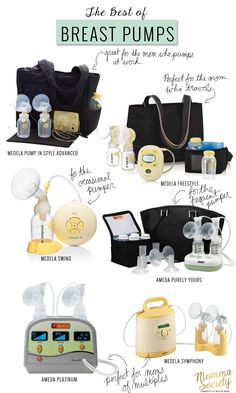 The Best Breast Pumps | How to choose the perfect breast pump | www.mommasociety.com | Community of Modern Moms