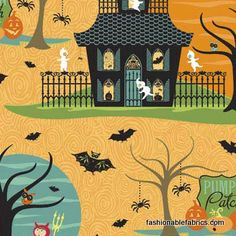 Costume Club Haunted Pumpkin Patch orange by Sheri Berry