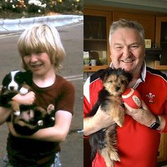 First puppy and latest puppy 50 years apart. Time flies ! #dogsofinstagram #dogsoffacebook #dogsoftwitter #anglesey Anglesey, Puppies, Dogs, Animals, Cubs, Animales, Animaux, Pet Dogs, Doggies