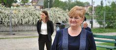 Elżbieta Gelert: jako prezydent zmodernizuje stadion przy Agrykola