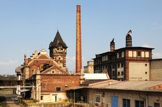 Dreher�s brewery, Zatec, Saaz Praha, Czech Republic, Brewery, Tower, Building, Places, Travel, Pictures, Rook