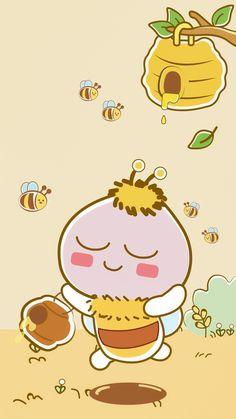 Apeach Kakao, Kakao Friends, Molang, Cute Friends, Wallpaper Iphone Cute, Totoro, Pink Aesthetic, Pikachu, Doodles