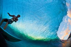 Amazing shot of John John Florence, Tahiti by Russo