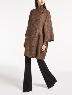 Max Mara CENNARE dark brown: Pure cashmere jacket.
