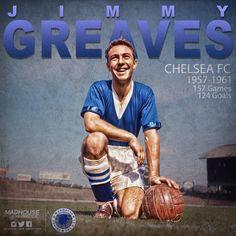 Jimmy Greaves - Chelsea FC Legend Chelsea Football, Chelsea Fc, Fa Community Shield, Jimmy Greaves, Uefa Super Cup, Stamford Bridge, Raquel Welch, National League, Europa League