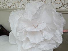 white paper flower lovely for weddings