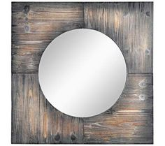 "Cooper Classics Laurent 31 1/2"" Square Wall Mirror 
