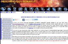 LA LETTURA DELLE SIBILLE DELLA ZINGARA SU AMORE LAVORO FORTUNA SALUTE GRATIS ONLINE - Il miglior sito di oroscopi giornaliero, settimanale, mensile, annuale online gratis