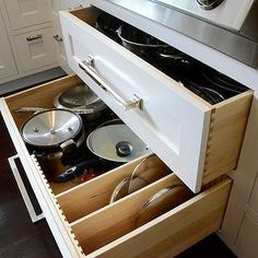 Drawers Under Cooktop, kitchen, Dearborn Cabinetry