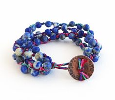 Erin Siegel Jewelry: Fortuneteller's Bracelet TUTORIAL