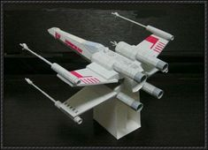 Star Wars - T-65 X-wing Starfighter Ver.6 Free Paper Model Download