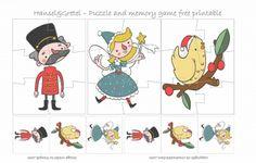 HANSEL & GRETEL #PUZZLE - FREE PRINTABLE