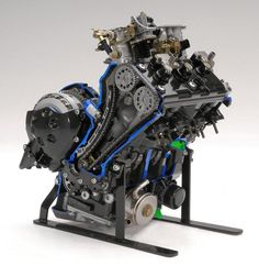 motorcycle engine cutaways - Google Search