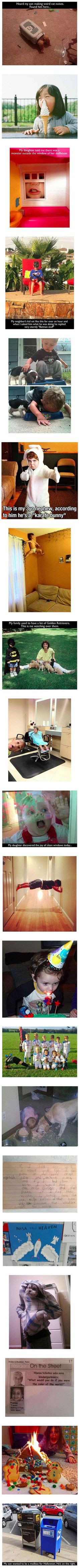 I Think We Can All Agree, That Kids Are Hilariously Creepy – 20 Pics