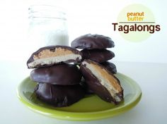 Homemade Girl Scout Tagalong Cookies Recipe    Makes 24 cookies    Egg, dairy, and gluten-free