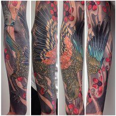 Sacred Tattoo in Kingsland - Hamish M - Kea finished
