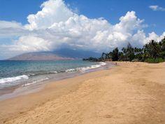 Kihei beach in Maui, Hawaii