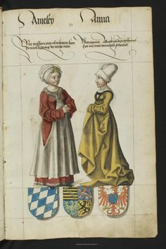 SLUB Dresden: fungerar View: The Saxon stambok - 1546 Renaissance Clothing, Renaissance Fashion, Historical Art, Historical Clothing, 15th Century Clothing, German Costume, Elizabethan Fashion, German Outfit, Landsknecht