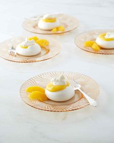 Crisp meringues, tangy orange curd, and rich whipped cream come together in one sensational dessert. Martha made this recipe on episode 612 of Martha Bakes.