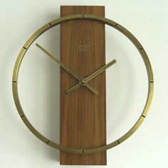 electric wall clock by Kienzle Design, 1970s