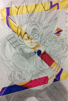 Bardock x Black from Dragon Ball by ZorArt