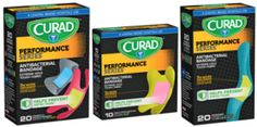 $.75 off CURAD Performance Series Bandage Coupon on http://hunt4freebies.com/coupons