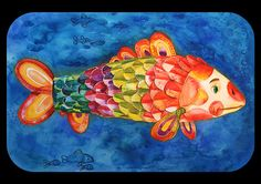 Memory Fishes on Behance Watercolor Illustration, Watercolour, Behance, Memories, Fish, Create, World, Painting, Illustrations