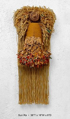 Fibre art from Fibrations Studio — an homage to Sun Ra. #SarahEdmonds #Banquet