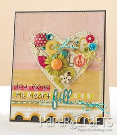 Full Heart Card by @Julie Campbell