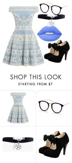 """outfit"" by hjeanb on Polyvore featuring Alexander McQueen, Boohoo and Lime Crime"