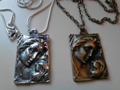 Precious mother and child necklaces