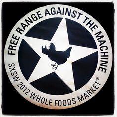 Whole Foods goes free range.