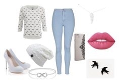 """""""I don't know!"""" by abigaelf on Polyvore featuring mode, Lipsy, ONLY, Topshop, Latelita, Nanette Lepore et Lime Crime"""