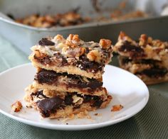 Low Carb Magic Cookie Bar Recipe | All Day I Dream About Food