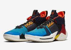4254462546d Russell Westbrook s Jordan Why Not Zer0.2 Russell Westbrook Shoes