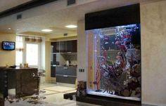 Aquarium Design, Aquarium Mural, Home Aquarium, Aquarium Fish Tank, Aquarium Craft, Fish Tank Wall, Aquarium Rocks, Glass Aquarium, Aquarium Ideas