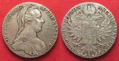 1936-1961 Haus Habsburg AUSTRIA Maria Theresa Thaler 1780 (London 1936-61) silver VF-XF SCARCE!!!# 92913 ss-vz